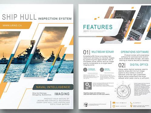 Ship Hull Inspection ROV