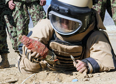 IED Active Defeat Payload for Drones