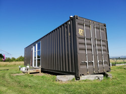 40 ft container cabin