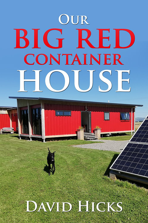 Our Big Red Container House