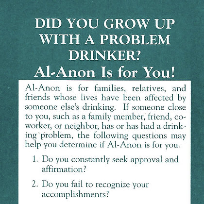Did You Group Up With a Problem Drinker?