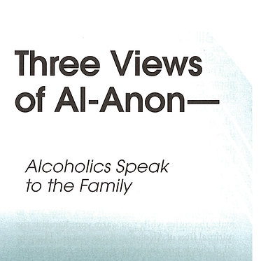 Three Views of Al-Anon