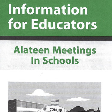 Information for Educators