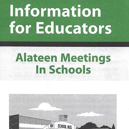 Information for Educators