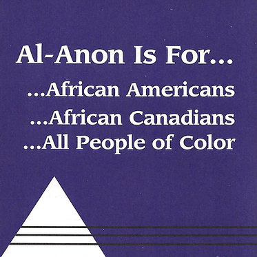 Al-Anon Welcomes All People of Color