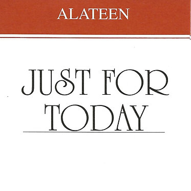 Just for Today, Alateen Wallet Card