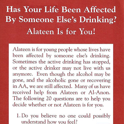 Has Your Life Been Affected By Someone Else's Drinking?