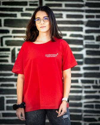 FIRE RED T-SHIRT