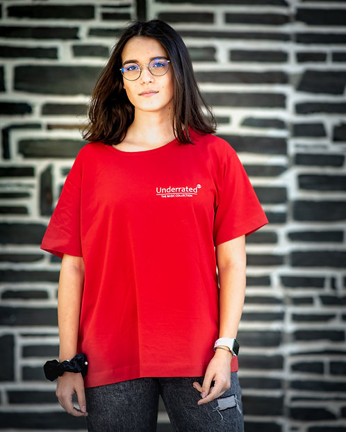 FIRE RED T-SHIRT