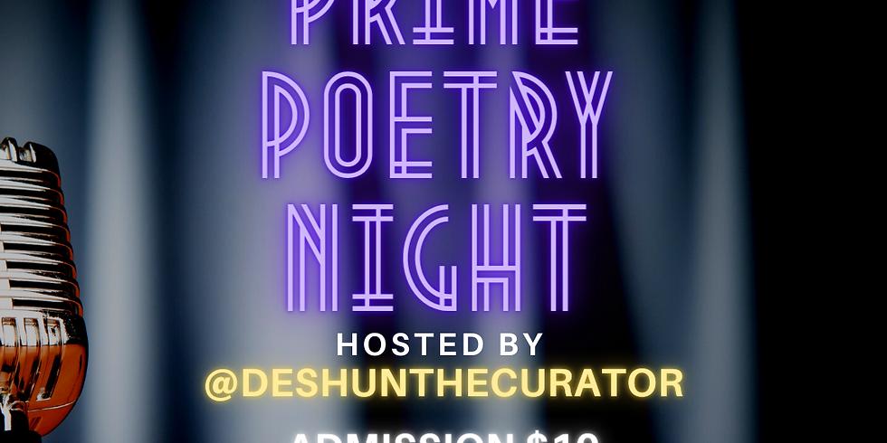 Prime Poetry Night