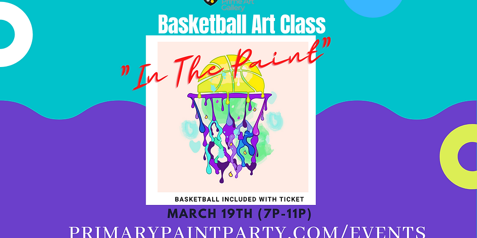 """""""In The Paint"""" - Specialty Art Class"""