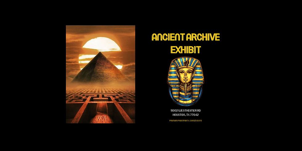 Ancient Archive Exhibit Opening Day
