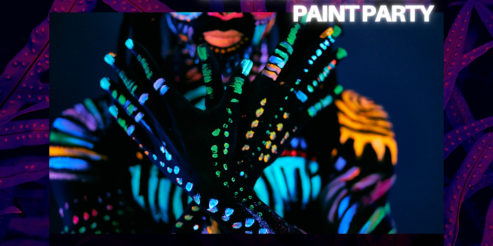 Lights Out - Blacklight Paint & Sip