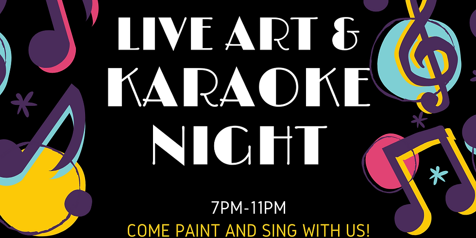 Karaoke Paint Night