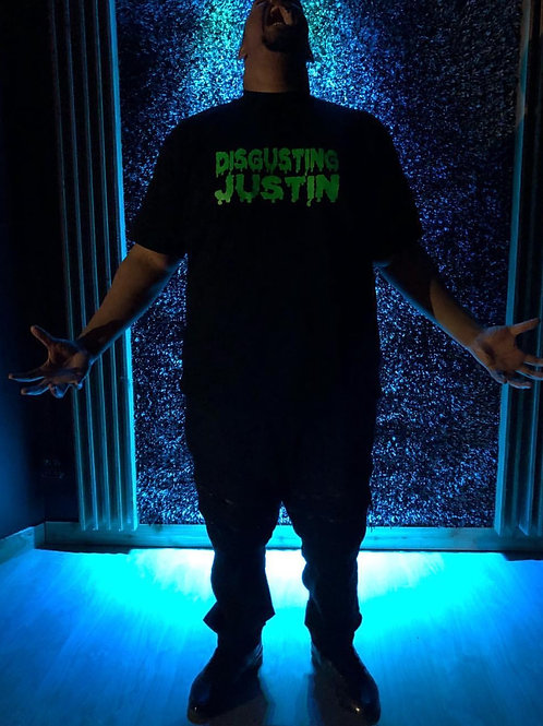 """Disgusting Justin"" - T-shirt"