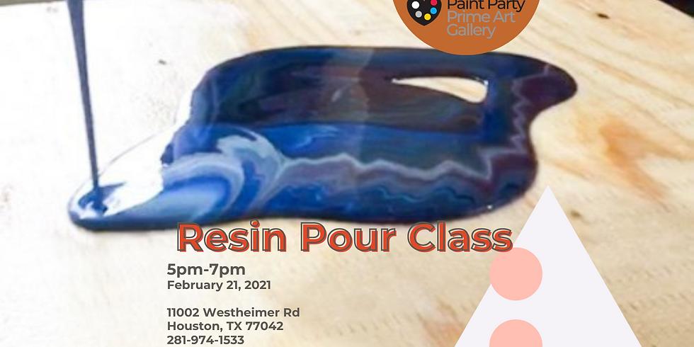 Resin Pour Class