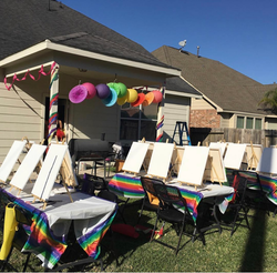 Primary Paint Party
