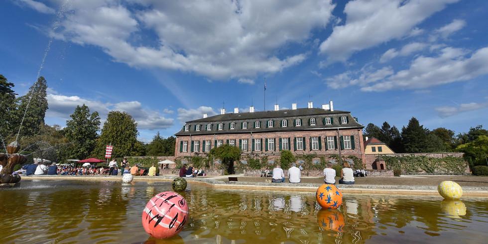 Das Fürstliche Gartenfest-Schloß Wolfsgarten LANGEN (geplant)