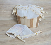 Seifensäckchen -Umweltfreundlich aus Bio-Kunststoff von MTG Seifen-Trend