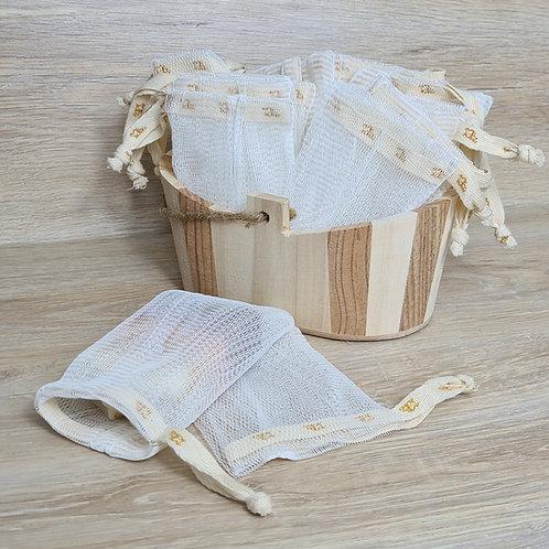 NEU:  Seifensäckchen - biologisch abbaubar und kompostierbar