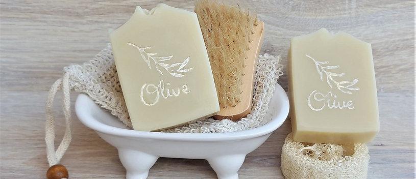 """""""Olive 70"""" mit 70% Olivenöl - 15% Rückfettung"""