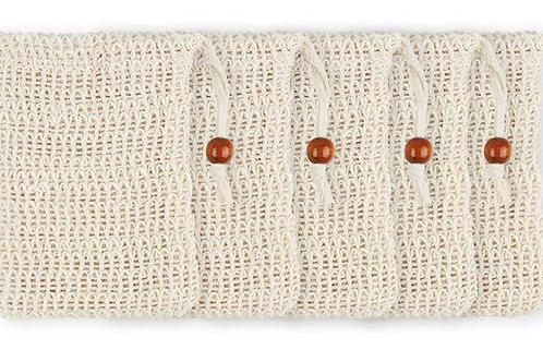 Sisal - Seifensäckchen mit Baumwoll-Verschlusskordel