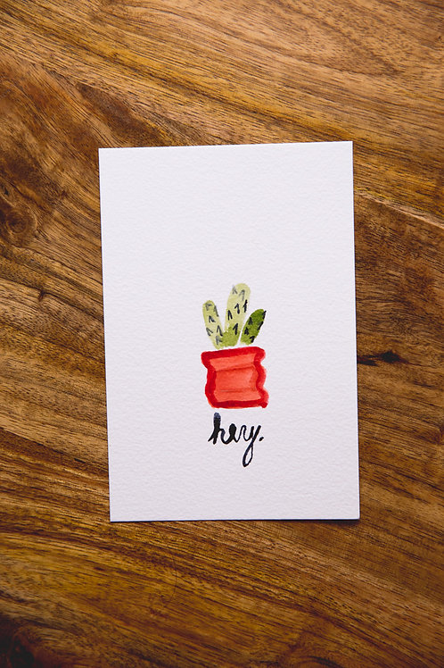 Cactus Postcard No. 2