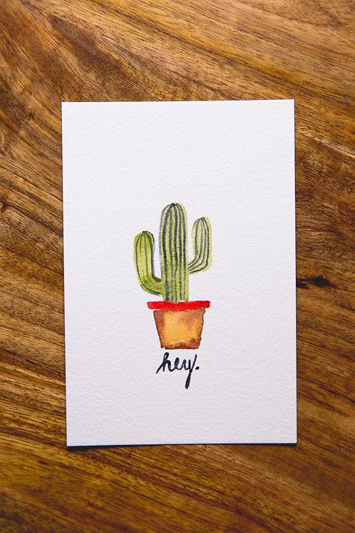 Cactus Postcard No.1