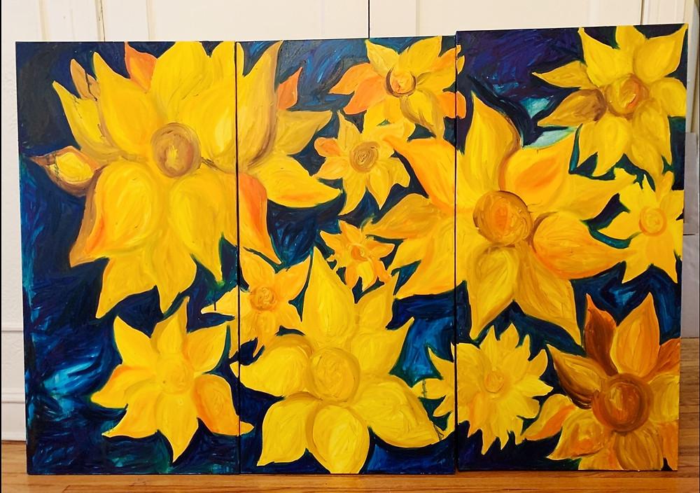 Sarah Hensley Art: st. louis artist'ssunflower paintings