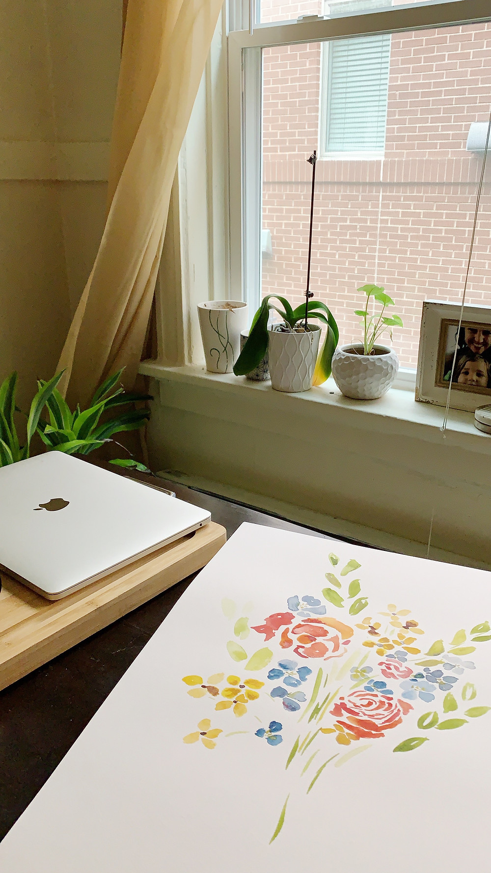 Sarah Hensley Art: St. Louis artist's Watercolor artwork of plants and flowers