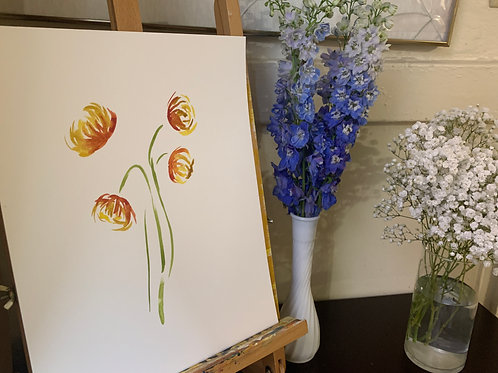 Floral Painting 4