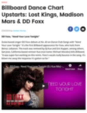 Billboard Dance Chart Upstarts Lost King