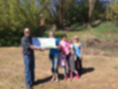 Northwest Farm Credit Services awards $2,000 to Tony Kettel Skate Gardens in Palouse, WA