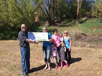 Northwest Farm Credit Services awards $2,000 to Tony Kettel Skate Gardens in Palouse, WA