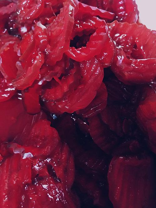 Strawberry Lemonade Gherklets