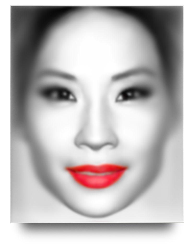 """Portraitbox """"Lucy Liu"""" II, 2019"""