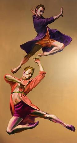 Zwei Tänzer, 2020