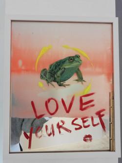 """Love yourself…"", 2021"