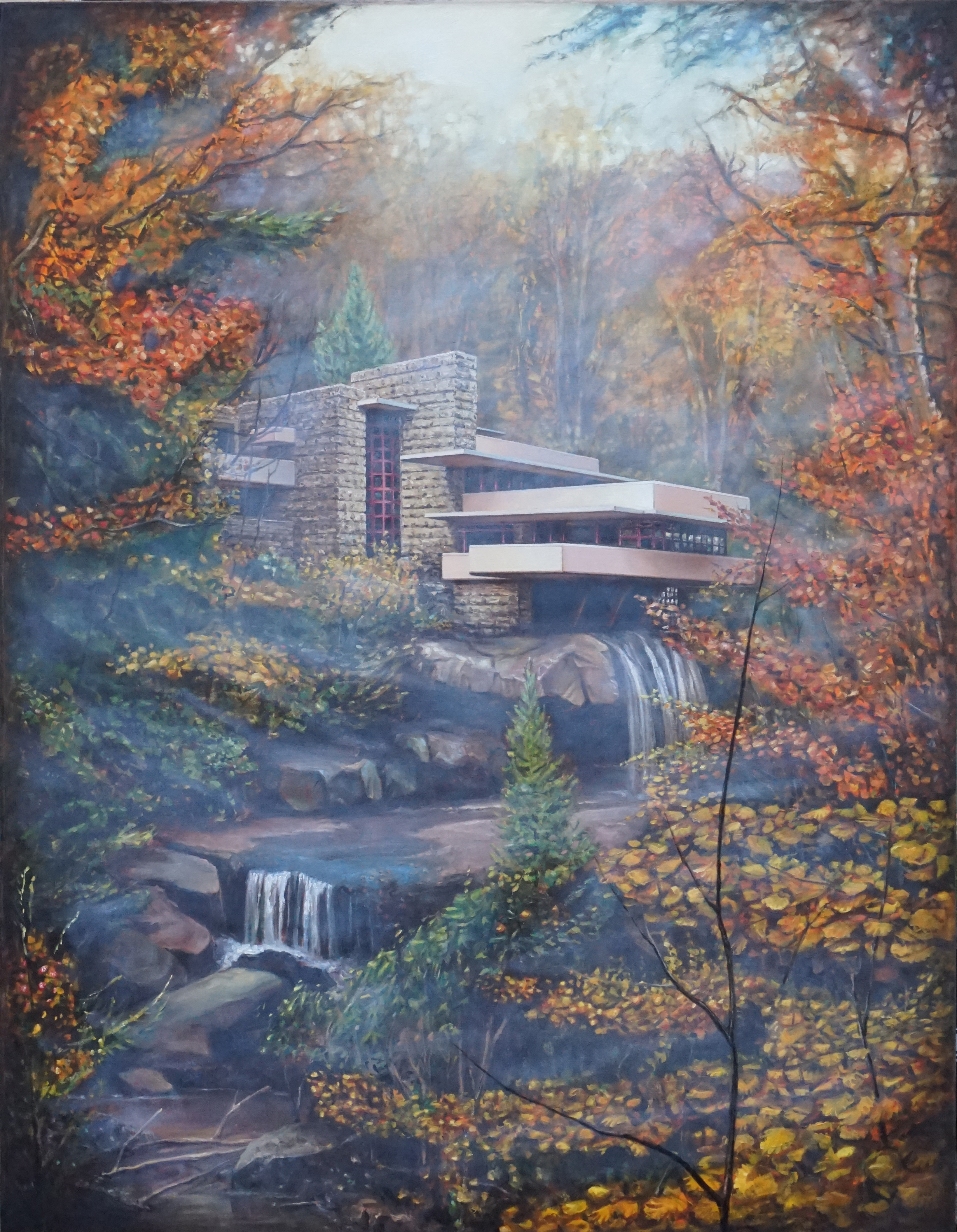 House Falling Water, 2020