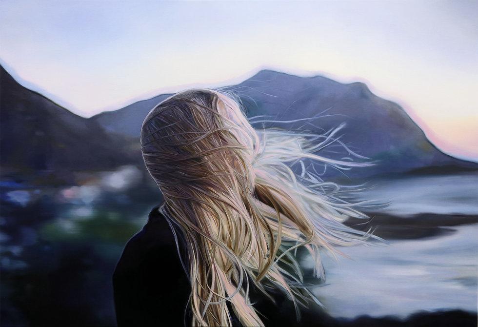 Joanna Jesse - An der Küste, 110x160, Öl