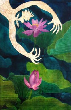 Pflanzenmenschen Lotus II