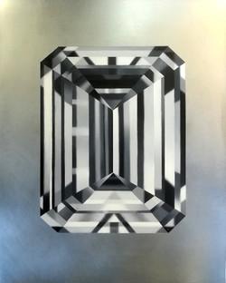 Diamant Smaragdschliff, 2019
