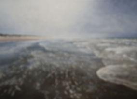 Bilder vom Meer_StrandLVIII, 105 x 145 c