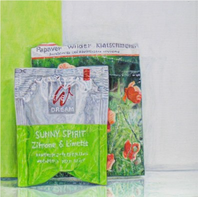 Sunny Spirit mit Grün, 2012