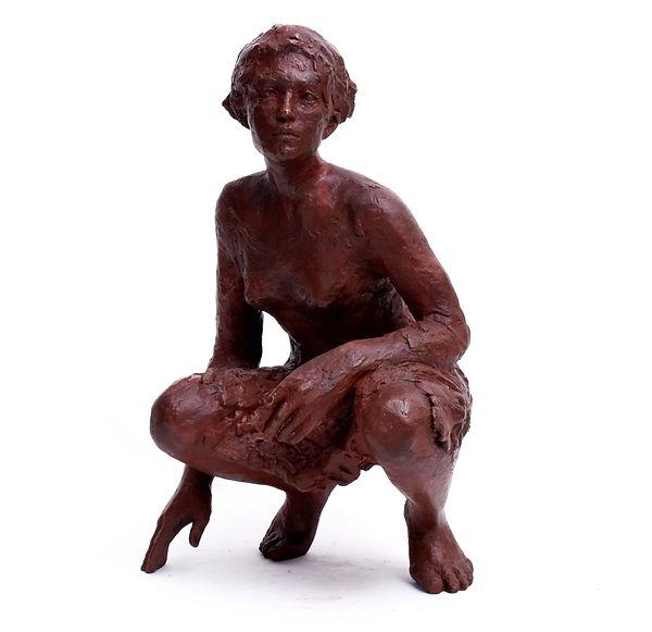 Bleiben, Warten, 2020, Bronze, 55 cm hoch, 12er Auflage