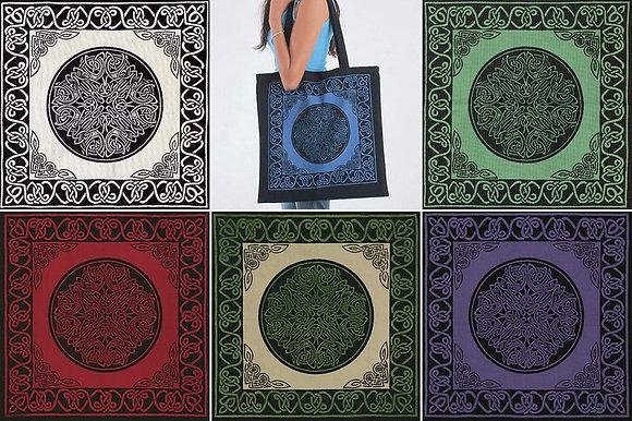 Cotton Celtic Design Bag