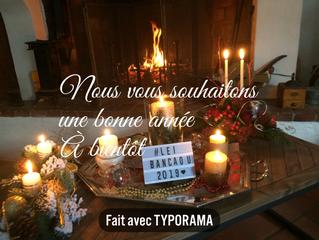 Bonne Année Happy new year Buon anno