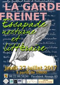 Lieu de l'évènement: Zone piétonne, à partir de 18h30        27 juillet 2017