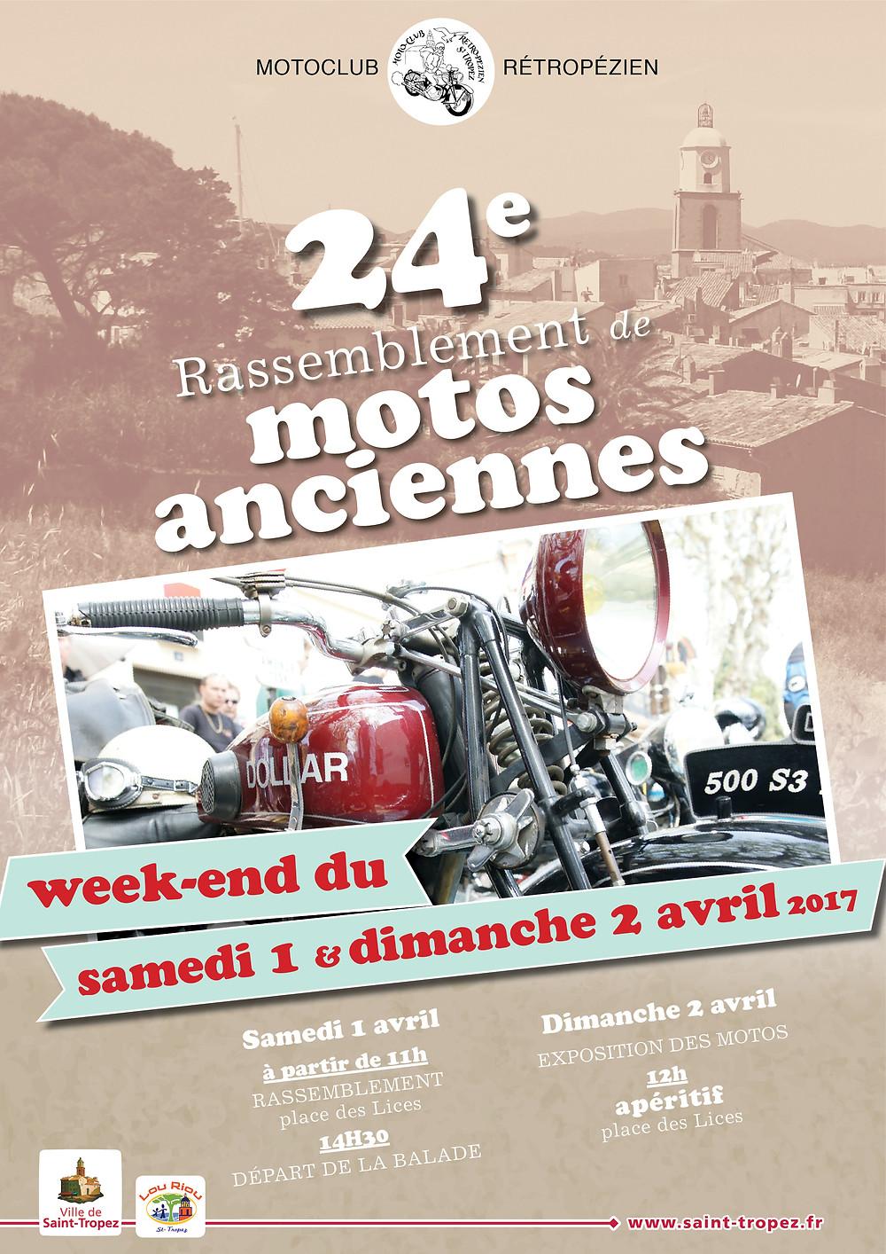 samedi 1 avril et dimanche 2 avril à Saint-Tropez