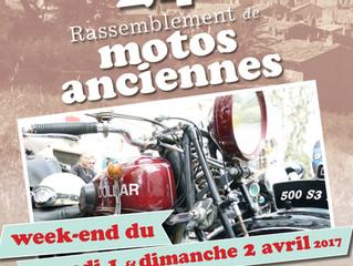 Rassemblement de motos anciennes